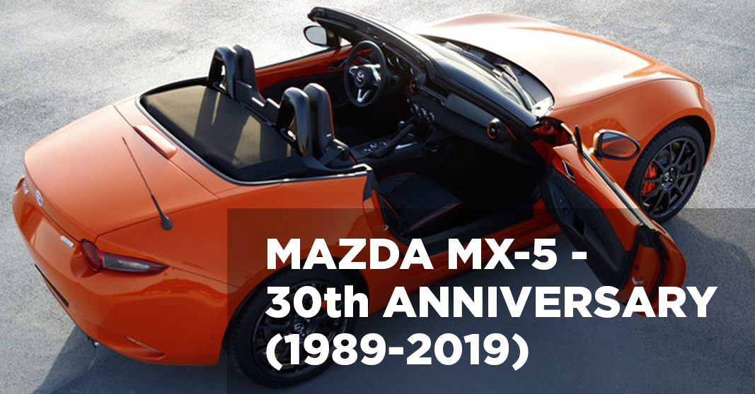 Mazda MX-5 - 30th anniversary (1989-2019)